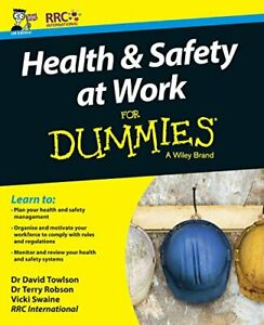 Health and Safety at Work For Dummies by RRC Paperback NEW Book