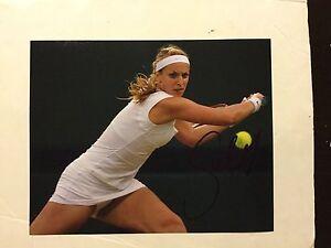 Sabine Lisicki Signed 8x10 Photo Autographed a