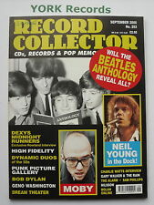 RECORD COLLECTOR MAGAZINE - Issue 253 September 2000 - Beatles / Neil Young