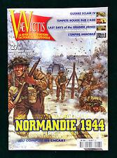 H&C Vae Victis No 27 Wargame Magazine w Uncut game Normandie 1944 Normandy