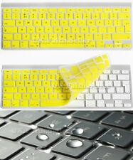 Waterproof UK/EU Silicone keyboard Cover Protector for Apple iMac, Macbook Pro