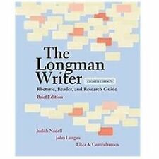 Longman Writer, The, Brief Edition: Rhetoric, Reader, and Research Guide (8th Ed