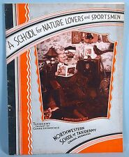1944 Taxidermy Correspondence School Photo Booklet Teddy Roosevelt Buffalo Bill