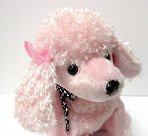 Ty Beanie Baby Brigitte Pink Poodle PRISTINE CLEAN, MINT w/Mint Tags ADORABLE!