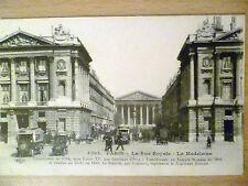 Vintage PostcardLa Rue Royale - la Madleine -PARIS (no. 4202)