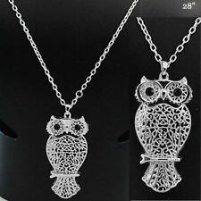 Owl Bird Hoot Nocturnal Nature Collectible Cute Fashion Jewelry Necklace #8-D