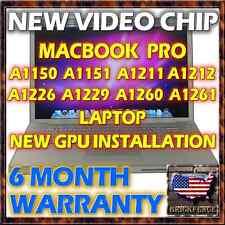 MACBOOK PRO A1226 A1229 A1260 A1261 LOGIC BOARD VIDEO REPAIR *BRAND NEW CHIPSET*