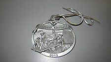 Case IH 2013 Pewter Christmas Ornament