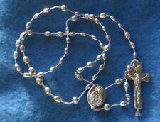 N° 50 Chapelet catholique en plastique rosaire religieux première communion