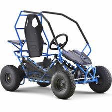MotoTec Maverick Go Kart 36v 500w Blue