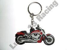 Harley Davidson V-Rod rubber key ring motor bike cycle gift keyring chain soft