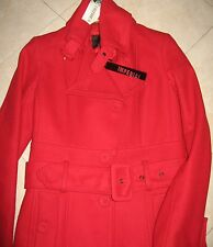 cappotto/giacca corta IMPERIAL originale100%- S(small)40/42 rosso natale-lana