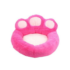 Cute Paw Shape Pet Dog Cat  Puppy Bed Soft Fleece Doghouse Kennel Mat Cushion