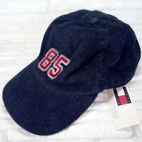 Tommy Hilfiger cap with visor, blue velvet, baseball type, new size S/M