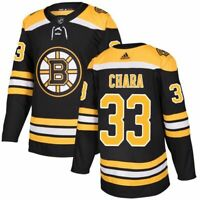 Zdeno Chara #33 Boston Bruins Black & Yellow Hockey Jersey