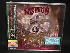 KREATOR Gods Of Violence + 1 JAPAN 2CD + BLU-RAY Tormentor Darkness Voodoocult
