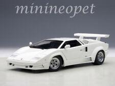 AUTOart 74537 LAMBORGHINI COUNTACH 25TH ANNIVERSARY EDITION 1/18 MODEL CAR WHITE