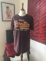 Super Dry Men's T-shirt Top  Size M