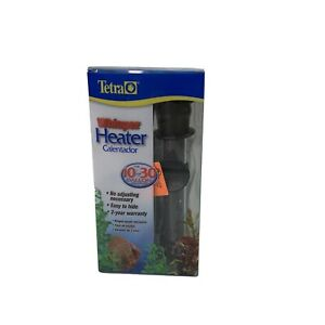 Tetra Whisper Submersible Heater for 10-30 Gallon Aquariums Open Box