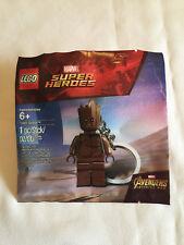 Lego TEEN GROOT Marvel Super Heroes Key Chain - Mint in Bag