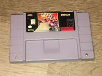Final Fight 3 Super Nintendo Snes Cleaned & Tested Authentic