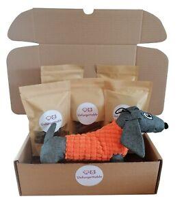 Netty's Naturals Hamper Treat Box Dog Present Gift Doggy Birthday Puppy Training