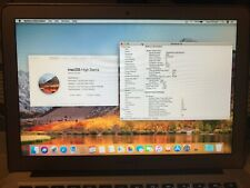 """MacBook Air 13"""" early 2015 Core i5 1.6Ghz 8GB 128GB SSD"""