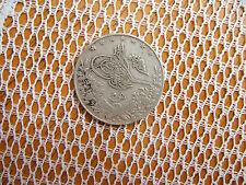 Egipto.. plata 5 Qirsh moneda.. ah 1327 - 1910/11 ad.. buena calidad.. 'D'