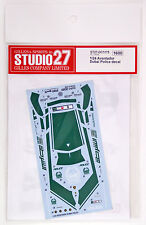 Studio27 ST27-DC1175 Aventador Dubai Police Car Decal for Fujimi 1/24