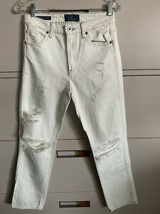 Lucky Brand The High Rise Tomboy Distressed Jeans Mom Jeans Size 4/27
