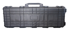 "42"" Hard Shell Case For Guns DSLR Camera W/Pelican 1720 Style Pluck Foam NEW"
