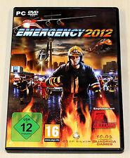 Emergency 2012-pc dvd-Comme neuf-pompiers d'urgence simulation --- (2013 5)