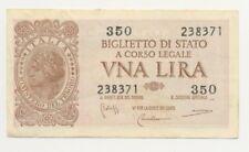 NF* Italia - banconota 1 lira Laureata 1935 §650.1