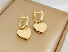 Real 18K Saudi Gold  Earrings