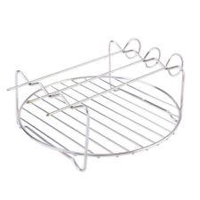 4Pcs Metal Shelves Stainless Steel Roasting Design Display Racks Stand Holder