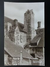 Oxfordshire ABINGDON Abbey Chimney - Old RP Postcard by W.A.Call of Monmouth