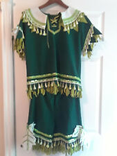 Fancy Peter Pan Costume with Matching Hat & Shoes - Halloween - See descrip for