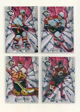 1997-98 Pinnacle Totally Certified Platinum Red Calgary Flames Team Set (4)