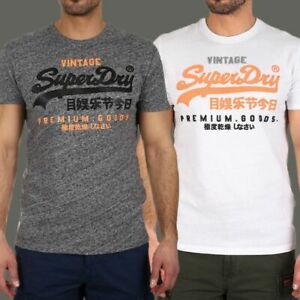 MENS SUPERDRY KING T-SHIRT TOP CASUAL GYM CREW NECK TEE SHORT HALF SLEEVE BRAND