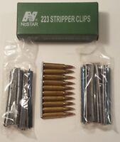 NCSTAR AARC .223/5.56MM STRIPPER CLIP 20 PK 10 ROUNDS EA FOR SPEEDLOADERS
