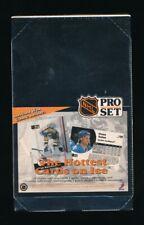 1991 PRO SET SERIES 1 NHL HOCKEY CARD BOX 36 PACKS WAYNE GRETZKY