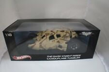 The Dark Knight Rises Camouflage Tumbler 1-18 Hotwheels Diecast Batmobile #BCJ76