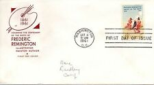 US FDC #1187 Remington , House Of Farnam (5722)