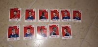 Panini EURO 2016 COCA COLA SET FRANCIA FRANCE 11 figurine sticker vignette
