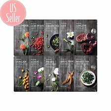 The Face Shop - Real Nature - Korean Face Mask 10 Types - Shipped from US