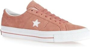 Converse Women's One Star Suede OX Sneakers, Pink Blush, 8.5 (153964C)