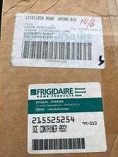NEW FRIGIDAIRE SEARS S/S REFRIGERATOR ICE CONTAINER ASSY 215525254
