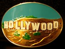 Hollywood California new badge mount stocknagel hiking medallion G0515