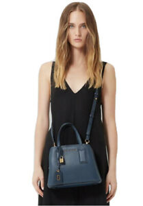 MARC JACOBS The Editor Crossbody Blue Sea Bag