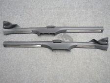 VW Door Sill Left & Right Passat 3g B8 Stainless Steel Black Highline